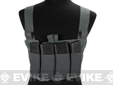 Blue Force Gear Ten-Speed M4 MOLLE Chest Rig - Wolf Grey
