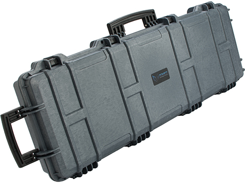 EMG Transporter Lockable 42 Hard Case w/ low-profile wheels & PnP foam (Color: Wolf Grey)