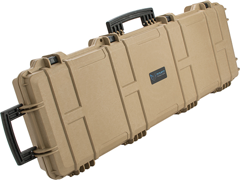 EMG Transporter Lockable 42 Hard Case w/ low-profile wheels & PnP foam (Color: Desert Tan)