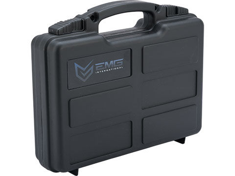 EMG Armory Series Pistol Case w/ Customizable Grid Foam (Color: Black)