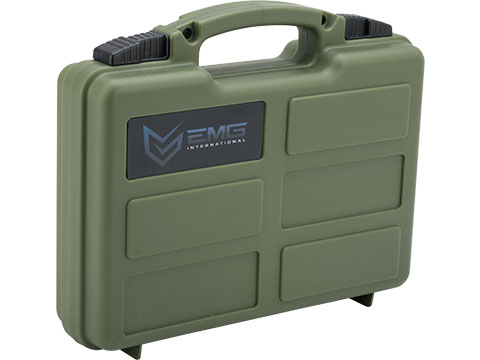 EMG Armory Series Pistol Case w/ Customizable Grid Foam (Color: OD Green)
