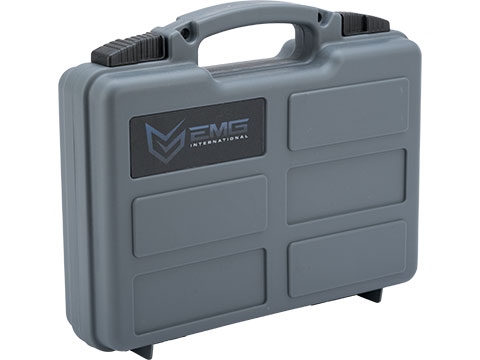 EMG Armory Series Pistol Case w/ Customizable Grid Foam (Color: Wolf Grey)