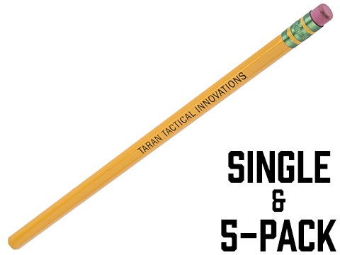Taran Tactical Innovations Licensed Dixon Ticonderoga #2 HB Pencil (Qty: 1 Pencil)