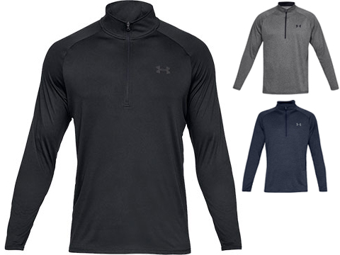 Under Armour Men's Tech 2.0 Half-Zip Long Sleeve Training Shirt