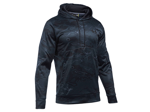 z Under Armour UA Storm Camo Hoodie (Size: Large / Black Tonal Reaper - Graphite)