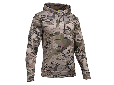 Under Armour UA Storm Camo Hoodie (Size: Large / Ridge Reaper Barren - Maverick Brown)