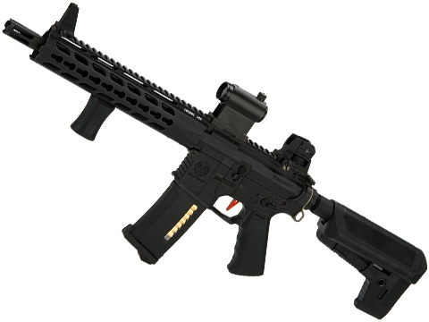 Umbrella Armory Krytac MKII CRB CQBR (Color: Black / 350 FPS 40 RPS w/ 2xBattery)