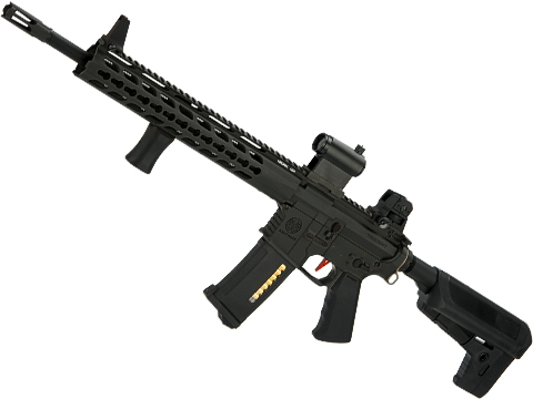 Umbrella Armory Krytac SPR MK2 DMR (Color: Black / 500 FPS 20 RPS / Semi Only w/ 2xBattery)