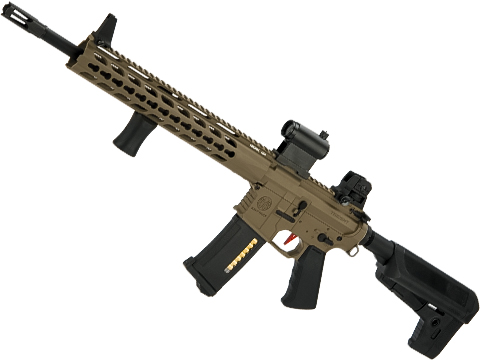 Umbrella Armory Krytac SPR MK2 Carbine (Color: Flat Dark Earth / 400 FPS 30 RPS w/ 2xBattery)