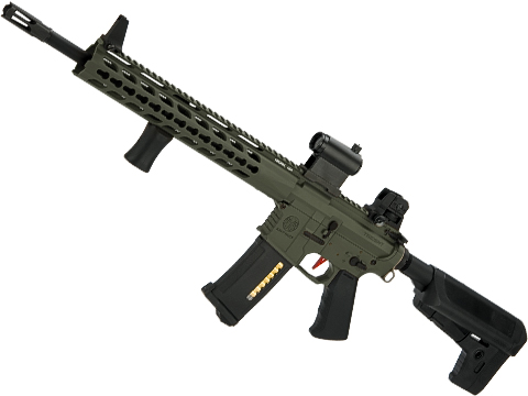Umbrella Armory Krytac SPR MK2 DMR (Color: Foliage Green / 500 FPS 20 RPS / Semi Only w/ 2xBattery)