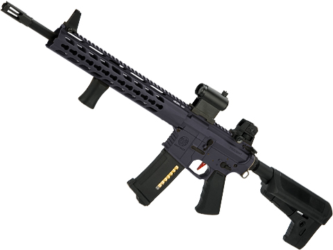 Umbrella Armory Krytac SPR MK2 Carbine (Color: Wolf Grey / 400 FPS 30 RPS w/ 2xBattery)