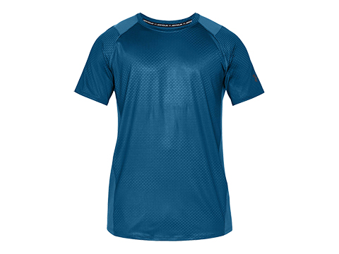 Under Armour UA MK-1 Short Sleeve Shirt (Color: Moroccan Blue  / Small)
