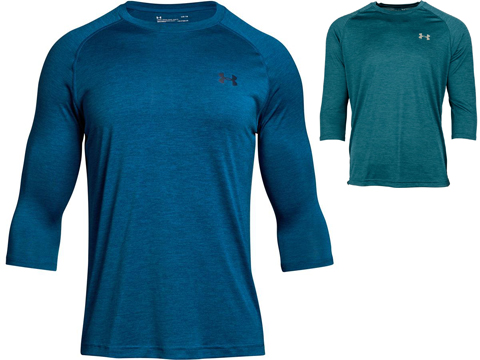 Under Armour UA Power Tech 3/4 Sleeve T-Shirt