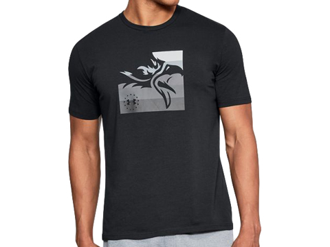 Under Armour UA Freedom Eagle T-Shirt (Color: Black / X-Large)