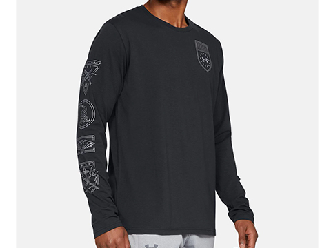 Under Armour Men's UA TAC Tactical Division Long Sleeve Graphic Shirt