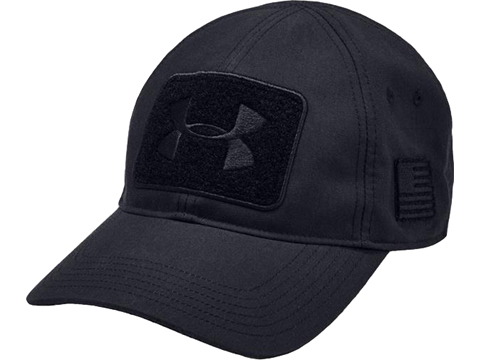 Under Armour Men's Tac Field Patch Cap (Color: Black)
