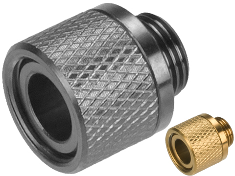 UAC Stainless Steel 11mm to 14mm Threaded Silencer Adapter