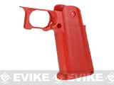 Dynamic Precision Sculptor Grip for TM / WE-Tech Hi-CAPA 5.1 Series Airsoft GBB Pistols (Color: Red)