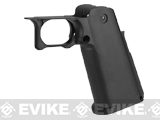 UAC CNC Aluminum Blaster Grip for TM Hi-CAPA 5.1 Series Airsoft GBB Pistols - Black