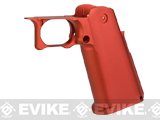 UAC CNC Aluminum Blaster Grip for TM Hi-CAPA 5.1 Series Airsoft GBB Pistols - Red