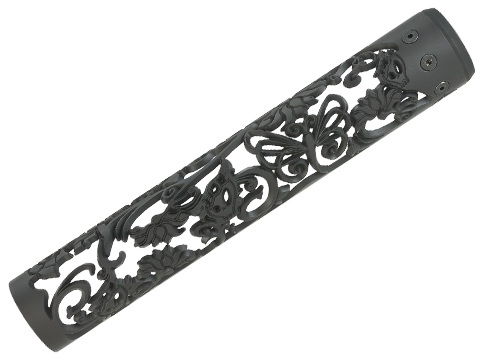 Unique ARs CNC Machined Lotus Dragon Handguard for AR15 Pattern Rifles