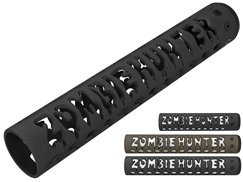 Unique ARs CNC Machined Zombie Hunter Handguard for AR15 Pattern Rifles