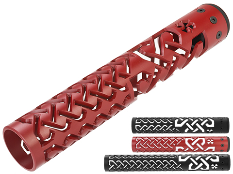 Unique ARs CNC Machined Celtic Knot Handguard for AR15 Pattern Rifles