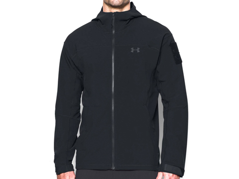 Under Armour Men's UA Tactical Softshell 3.0 Jacket (Color: Black / Large)