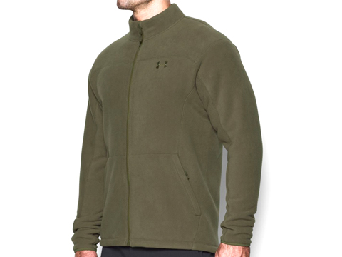 Under Armour Men's UA Tactical Superfleece Jacket (Color: Marine OD Green / Small)