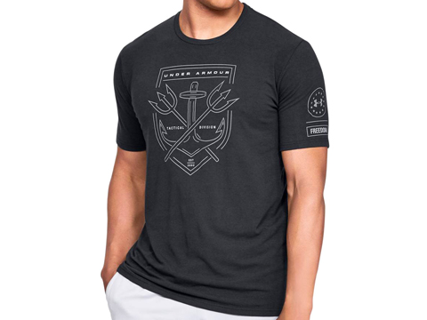 Under Armour Men's UA Tactical Division T-Shirt (Color: Black / Large)
