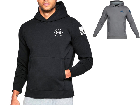 Under Armour Men's UA Freedom Microthread Fleece Hoodie