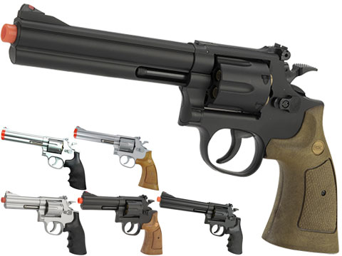 UHC 686  Heavy Weight Spring Powered Airsoft Revolvers