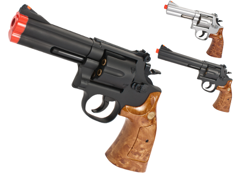 UHC Gas Powered 686 Airsoft Revolver