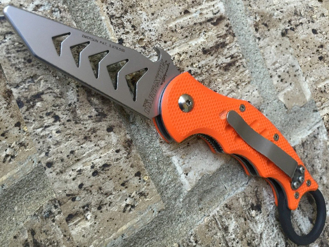 Fox Knives DART Training Knife - Orange G10