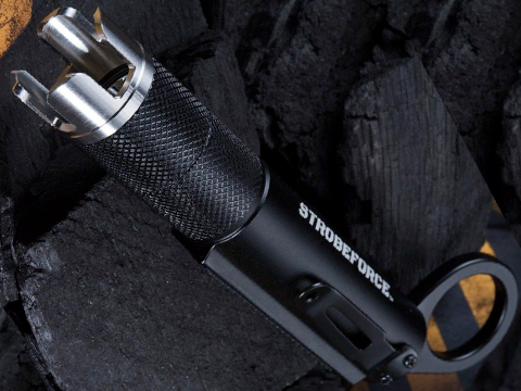 Strobeforce D-TAC 1000 Tactical Self Defense Flashlight