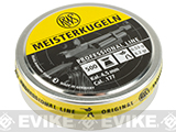 RWS Meisterkugeln Pistol 4.49mm 7.0Grain Pellets - 500 count