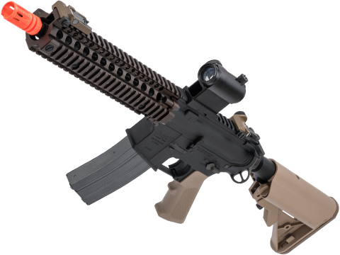 VFC Daniel Defense Licensed MK18 MOD1 Airsoft AEG Rifle w/ Avalon Gearbox (Color: Dark Earth)
