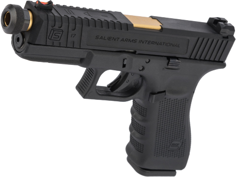 Elite Force Licensed GLOCK 17 Gen. 4 Gas Blowback Airsoft Pistol w/ EMG SAI Tier 2 Modification