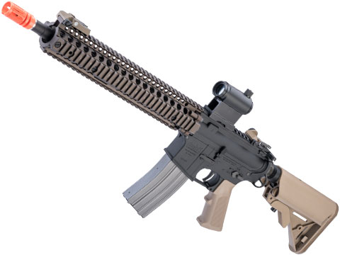 VFC Daniel Defense Licensed M4 SOPMOD Block 2 Airsoft AEG Rifle w/ Avalon Gearbox (Color: Dark Earth)