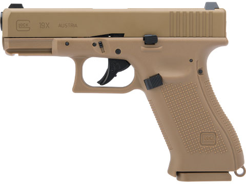 Umarex GLOCK G19X Full Size Blowback CO2 Powered Airgun (.177 Cal Air Gun)