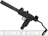 Umarex CO2 Powered  4.5mm Mini Uzi Airgun with Mock Suppressor