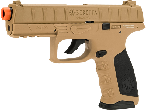 Beretta APX C02 Blowback Airsoft Pistol with Two Magazines (Color: Flat Dark Earth)