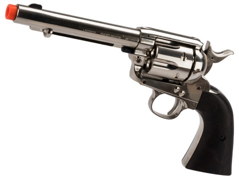 Elite Force Legends Smoke Wagon CO2 Powered Revolver (Color: Nickel)