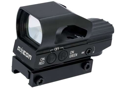 Axeon R47 Multi Reticle Hooded Reflex Sight