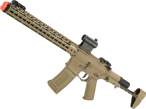 ARES Amoeba Gen5 AM-016 M4 Airsoft AEG with Octarms 13.5 Keymod Handguard (Color: Dark Earth)