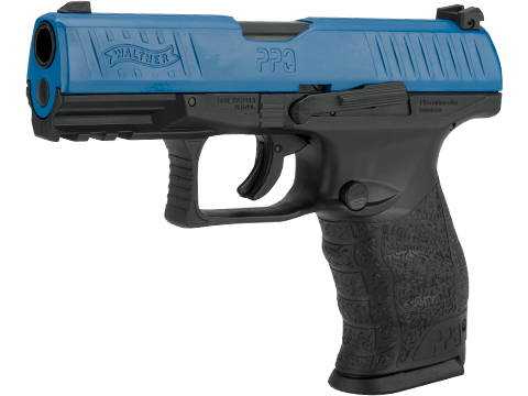 T4E Training for Engagement Walther PPQ .43 Training Pistol (Color: Blue with 2 Magazines)