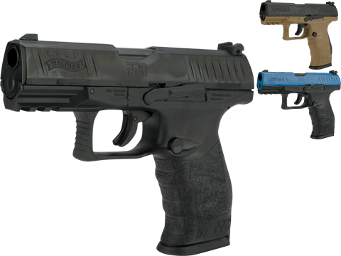 T4E Training for Engagement Walther PPQ .43 Training Pistol (Color: Black)