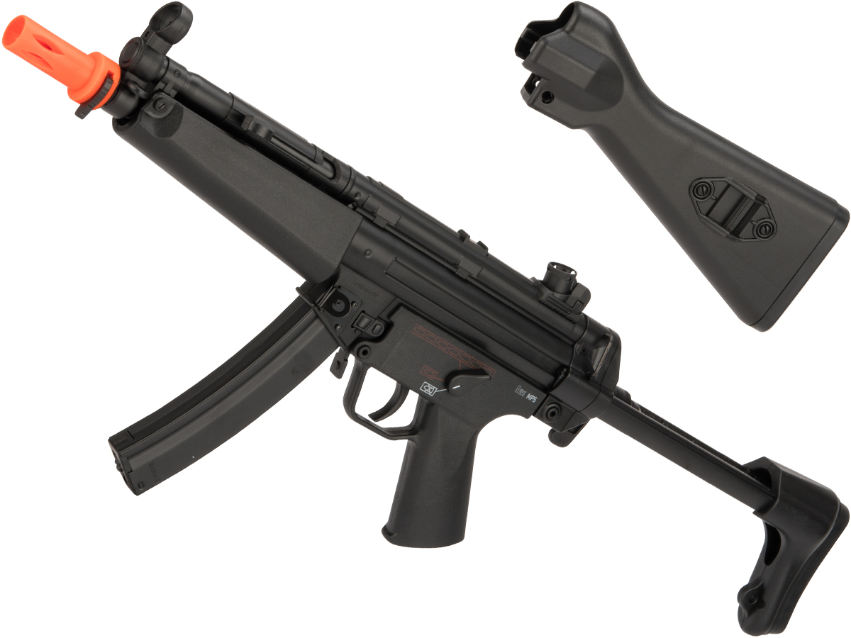 Elite Force H&K Competition Kit MP5 A4/A5 SMG AEG Airsoft Gun by Umarex (Color: Black)