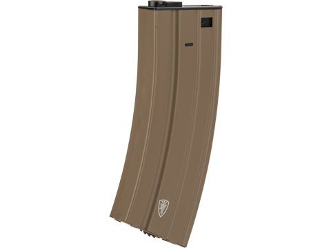 Elite Force M4 / M16 300rd Hi-Cap Steel Magazine for Airsoft AEG Rifles (Color: Tan / Single Mag)