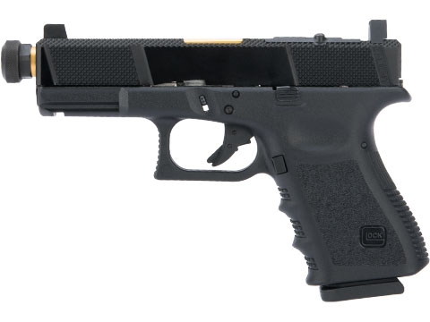 Elite Force Fully Licensed GLOCK 19 Gen.3 w/ EMG Salient Arms International Tier One Utility RMR Cut Slide (Type: Green Gas)